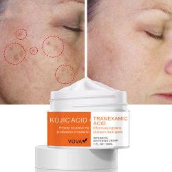 Intensive Whitening Cream Ta bort mörka fläckar Pigment Fade Melani one size