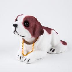 bil docka skaka huvud hund dekoration inredning dekoration tabl St. Bernard