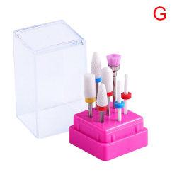 Keramiska nagelborrsatser Set 3/32 tums nagelborr för naglar G