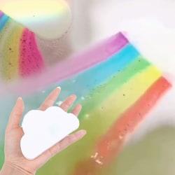 moln regnbåge bad salt hudvård bad salt exfolierande bubbla one size
