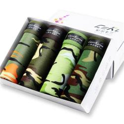 kamouflage tryckt boxershorts trosor andas bekvämt u Army green XL