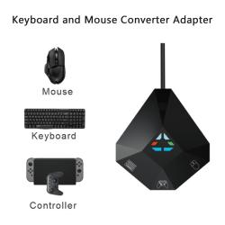 Keyboard Mouse Converter Adapter Gamepad Controller Converter F