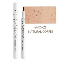 verklighetstrogen fräkna penna mjuk brun fräkna penna eyeliner 2