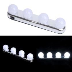 Makeup Vanity Mirror Light Led Bulb Mirror Led Light Battery Mi 4PCS LED