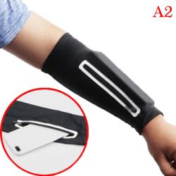 mobiltelefon stretch arm väska kör ridning sol armband wr A2