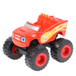 Monster Truck Leksaker Maskiner Billeksak Ryska Classic Blaze Cars Red