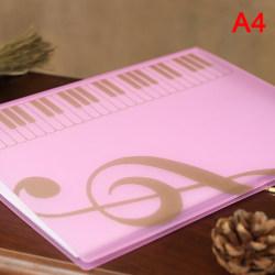 Music Score Coil Folder Practice Piano Paper Sheets Document Sto