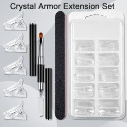 Nail Art Extension Set Nail Brush Acrylic Clip Quick Building Mo