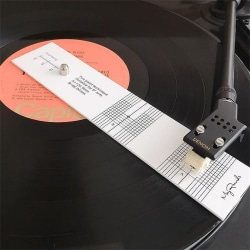 pickup kalibrering avstånd mätare lp vinyl skivspelare fonograf