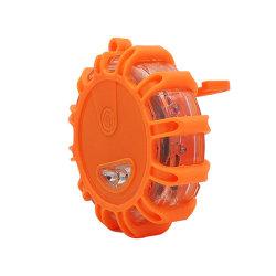 Bärbar orange bil Twinkle Star LED vägblinkande varningsljus