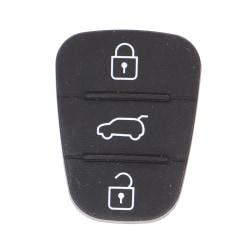 silikon 3-knapps knappsats skal nyckel för hyundai kia A