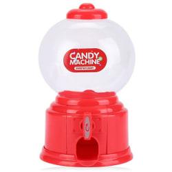 söt mini godis gumball dispenser barn varuautomat spara co Red