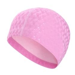 Badmössa Vuxen hatt Öronskydd Polyuretan Halkskydd Pink