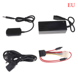 USB 2.0 till IDE sata s-ata 2.5 3.5 hårddisk HD HDD-omvandlare a EU