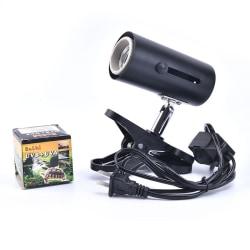 UVA + UVB 3.0 Reptil Lamp Kit med Clip-on keramisk ljushållare