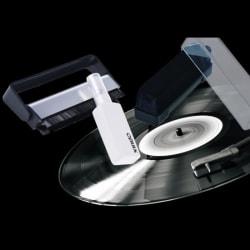 Vinyl Record Cleaner Anti Statisk rengöringsborste Dammborttagningssats