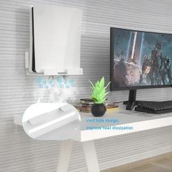 Väggmonterad hållare för hållare för rackhängare för PS5-spel