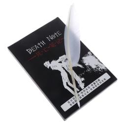 1 st Death Note Cosplay Anteckningsbok & Fjäderpenna Bok Anime Writin one size