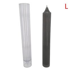 1 st lång stång rand ljusform tvål som gör stor cylinder revben L
