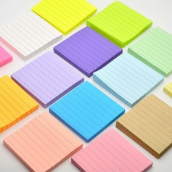 80st Soild Color Memo Pad DIY Kawaii Stationery School Station A3