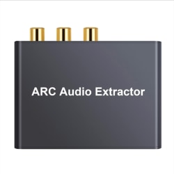 HDMI ARC Audio Adapter Digital till Analog SPDIF Coaxail RCA Conv Onesize