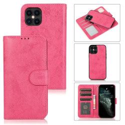 iPhone 12/12  PRO Plånbok Magnet Rosa Rosa