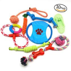 10-pack Tuggleksaker  hund katt leksaker .  Gammal rosa