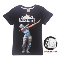Fortnite T-Shirt för Barn Black Fortnite Dance Svart 150