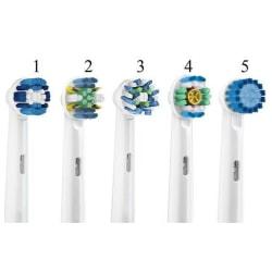 8-Pack Oral-B Kompatibla Tandborsthuvuden / Skaft / Tandborste Modell 3