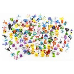 24st Söta  Färgglada Pokémon Figurer Pokemon Innehålerl Pikachu