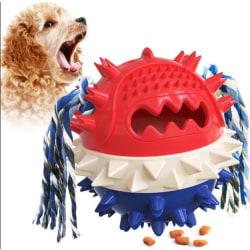 Multifunktionell hundleksak rengöring tänder boll FDA CE godkänt