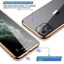 Doubel magnet fodral för iphone 11 guld Gold