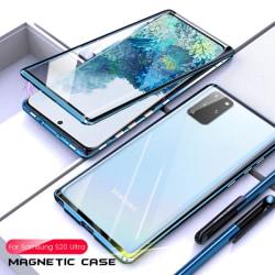 magnet fodral för Samsung S20 plus blå Blue
