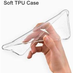 Silikon fodral för Nokia 4.2 Transparent