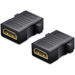 (2st) HDMI-dubbelhona, Skarvadapter HDMI Hona-Hona adapter