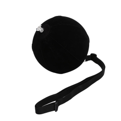 1Pc Golf Swing Trainer Ball Smart uppblåsbar Assist Posture Cor Black