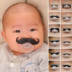 1st härlig baby rolig prank mustasch napp barn napp