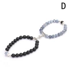 2st Magnetarmband par parade armband älskare smycken Valent D