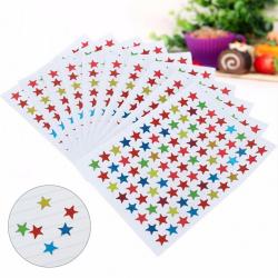 880st Stjärnformade klistermärken för skolbarnlärare one size