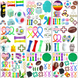 Fidget Toy Set Pop IT sensorisk leksak för barn vuxna 10-3pc