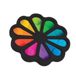 Flower Fidget Toys Sensory Simple Fidget Toys för barn vuxna one size