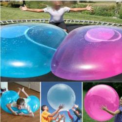 Uppblåsbar ballongboll kul inomhus utomhus leksaksgåva Blue L