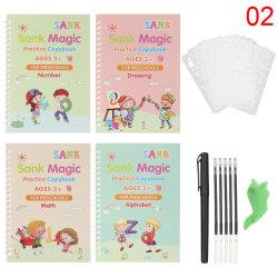 Magic Writing Stickers Kids Groove Copybook Handwriting 2