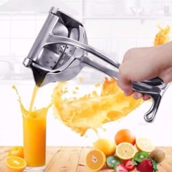 Manuell squeezer-Stainless Steel Fruit Juicer Kitchen Gadget one size