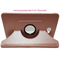 """Läder fodral Samsung Galaxy Tab A (10,1"""") 2016 - Rosa Guld"""