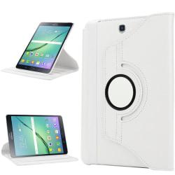 "Läder fodral Samsung Galaxy Tab S3 (9,7"")  - vit"