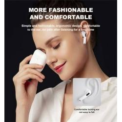 Brusreducering,PRO4 In-Ear Pods  trådlös laddning,  White