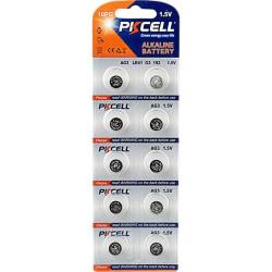 LR41 / AG3 / 392 / 384 10-pack  PKcell Aluminium