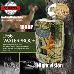 1080P Wildlife Hunting Trail Camera Photo-Traps Motion Triggered