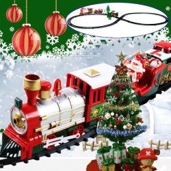 Music Train Track Set Julklapp Elektriska tågleksaker Package 2